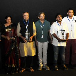The Director Varun Narvekar with the Cast & Crew of the film MURAMBA (Marathi), at the Presentation, during the 48th International Film Festival of India (IFFI-2017), in Panaji, Goa on November 25, 2017.